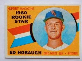 Ed Hobaugh #131 1960 Topps Baseball Card (Chicago White Sox) - $2.69
