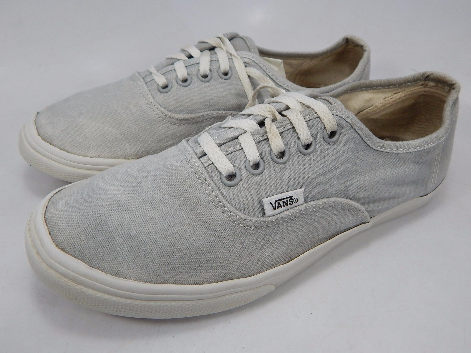 Vans Off The Wall Women's Canvas Casual Skate Shoes Size US 7.5 EU 38 Gray TCQ0
