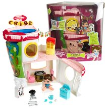 Bratz MGA Entertainment Babyz So Cute Series 15 Inch Tall CRIBZ with Kitchen, Mu - $94.99