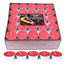 YEDAN Tea Lights Candles, 100 Pack Flameless Colorful Tealights Holder V... - $15.65