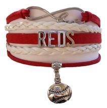 Cincinnati Reds Baseball Fan Shop Infinity Bracelet Jewelry - $11.99