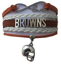 Cleveland Browns Football Fan Shop Infinity Bracelet Jewelry - $9.99