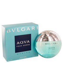 Bvlgari Aqua Marine by Bvlgari Eau De Toilette Spray 3.4 oz - $56.95
