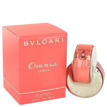 Omnia Coral by Bvlgari Eau De Toilette Spray 1.4 oz - $46.95
