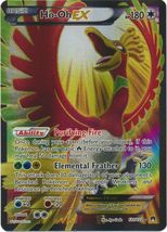 Ho-Oh EX 121/122 Full Art Ultra Rare XY BreakPoint Pokemon Card - $8.89