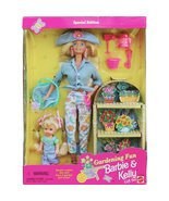 Gardening Fun BARBIE & KELLY Gift Set - $30.00