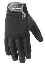 Wells Lamont Synthetic Leather Work Gloves, High Dexterity, Medium 7700M - $19.03