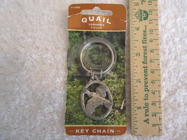 "Vintage Hillman Quail Key Chain "" Awesome Collectable Useable Item "" Nos "" - $9.05"