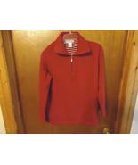 "Womens Jennifer Moore Petites Size S Red Colored Sweater Shirt "" BEAUTIF... - $14.01"