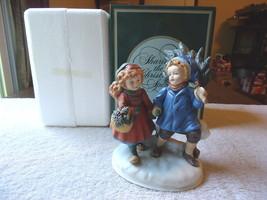 "Vintage Avon Christmas Memories Series 1981 Porcelain Figure "" NIB "" BEAUTIFUL - $26.17"