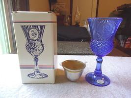 "Vintage "" NIB "" Avon The Martha Washington Goblet Fostoria Candle Holder... - $26.17"