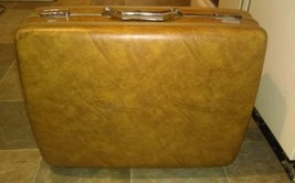Vintage American Tourister Brown Hard Case Suit... - $19.78