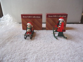 "Vintage "" NOS "" ? Set Of 2 Avon Gift Collections,Jolly Penguin Ornaments... - $14.01"