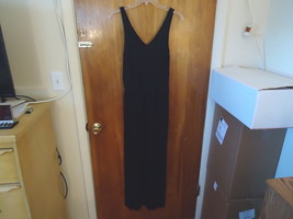Womens / Girls Old Navy Size S/ P/ P Full Length Black Sleeveless Dress ... - $16.82