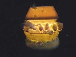 "Michel / David Walker Ceramic Noahs Ark Type Of Night Light "" BEAUTIFUL ... - $22.43"