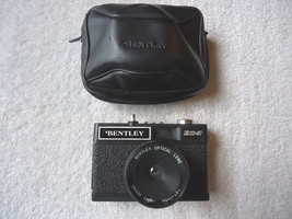 "Vintage Bentley BX-3 Camera With Case "" BEAUTIFUL COLLECTIBLE USEABLE ? ... - $15.88"