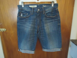 "Gap 1969 Size 29 Slim Jean Shorts "" GREAT PAIR "" - $23.36"