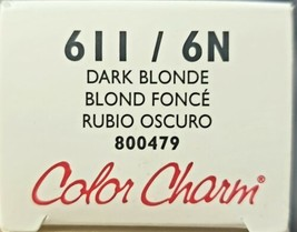 WELLA COLOR CHARM Permanent Dark Blonde Gel Hair HC-G611/6N - $7.69