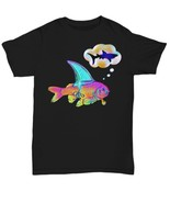Dream BIG. Goldfish Dreams To Become A Shark Unisex T-Shirt  - $15.83+