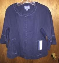 Simply Vera Old Blue Jacket Sz S - $32.71