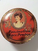 """Vintage Round Tin """"Fascination Face Powder"""" made in England - $13.99"""