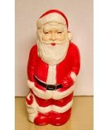 Vintage -Union Products Inc -Santa Claus Vinyl Lightup - $11.87