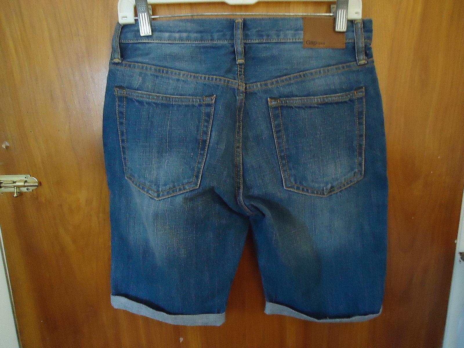 "Gap 1969 Size 29 Slim Jean Shorts "" GREAT PAIR """