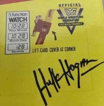 Vtg Sealed New HULK HOGAN WATCH ON ORIGINAL CARD WWF MARVEL TITAN SPORTS 1991 image 4