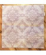Pottery Barn Throw Pillow Cover Soft Pink SARITA HANDA Jacquard  20x20 N... - $39.00