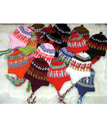Wholesale,Lot of 100 peruvian hats,Alpacawool chullo - $435.00