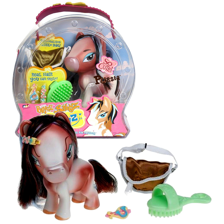 Bratz MGA Entertainment Babyz Ponyz Series 5 Inch Tall Horse Figure - PURSIA wit - $29.99