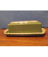 Hull Green Butter Dish - $30.00