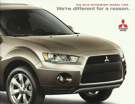 2010 MITSUBISHI full-line brochure catalog 10 ECLIPSE GALANT ENDEAVOR - $8.00