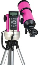 iOptron 9802p-a smartstar-r80 GPS Computerized Telescope-pulsar pink wit... - $1,413.26