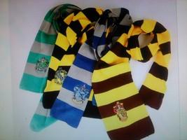 Harry Potter Hogwarts Gryffindor/Slytherin/Hufflepuff/Ravenclaw Scarves  - $9.99