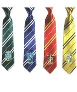 Harry Potter Hogwarts Gryffindor/Slytherin/Hufflepuff/Ravenclaw Ties - $8.99