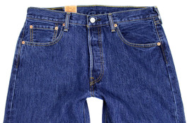 Levi's 501 Men's Original Fit Straight Leg Jeans Button Fly 501-0194 image 2