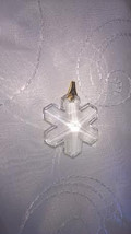 Acrylic Snowflake Pendant, Necklace Pendant - $4.99