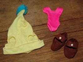 VINTAGE SET OF THREE VARIOUS ITEMS DOLL CLOTHING (Granny's Bargain Barn) - $7.25