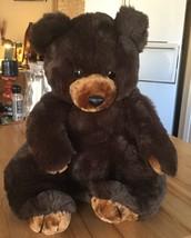 Vintage America Wego 'Begging Bear' CUDDLY Plush Stuffed LARGE Teddy BEA... - $50.49
