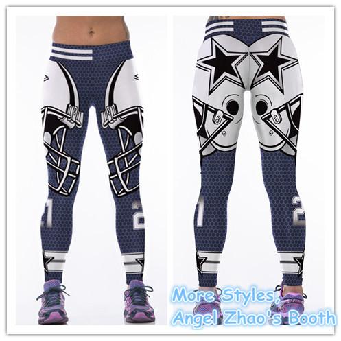 2c56493b2806b5 3778364741 845474943. 3778364741 845474943. Womens Dallas Cowboys NFL  Leggings Wholesale Workout Yoga Pants Sexy Gym Wear