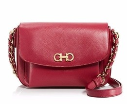 Salvatore Ferragamo Sandrine Shoulder Crossbody... - $760.32