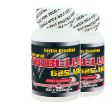 Tribulus (Testosterone Support)  (625mg Extract) 2 Pack! by Earth's Crea... - $20.67