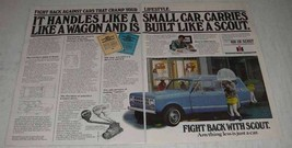 1980 International Harvester Scout Ad - It Handles - $14.99