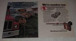 1980 International Harvester DT-466 Diesel Engine Ad - $14.99