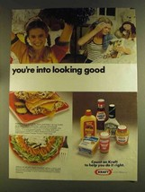 1980 Kraft condiments Ad - You're Into Looking Good - $14.99