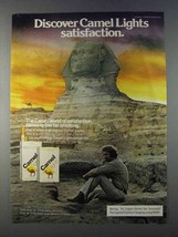 1980 Camel Lights Cigarettes Ad - Discover  - Sphinx - $14.99