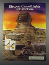 1980 Camel Lights Cigarettes Ad - Discover Satisfaction - NICE - $14.99