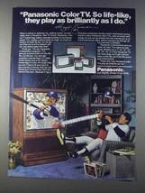 1980 Panasonic CinemaVision TV Ad - Reggie Jackson - $14.99