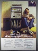 1980 Panasonic Technics Z System Ad - SU-Z1 Amplifier - $14.99